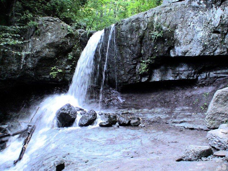 приморские водопады как добраться
