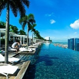 Терраса отеля Marina Bay Sands 5*